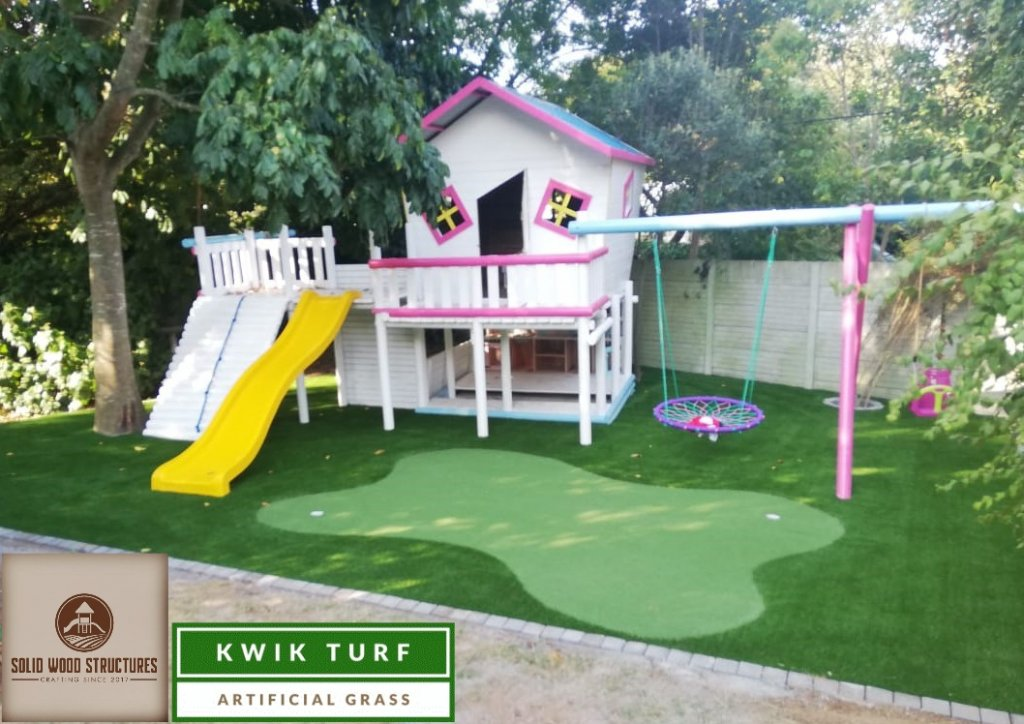 Artificial Lawn Play Area